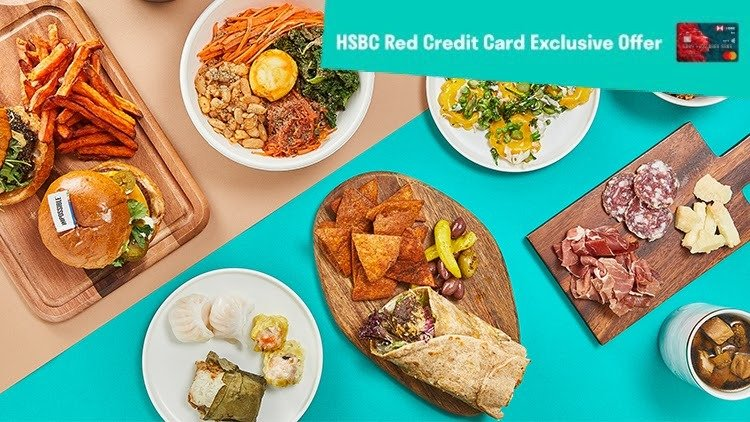 HSBC Red Credit Card Exclusive Offer!
