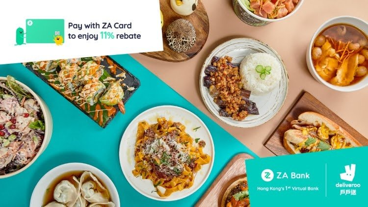 ZA Bank x Deliveroo Exclusive Offers