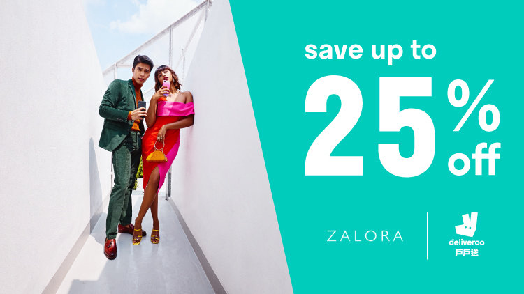 Deliveroo x ZALORA Exclusive Discounts