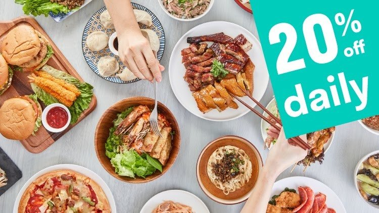 Save 20% Every Day on Your Meals This Week